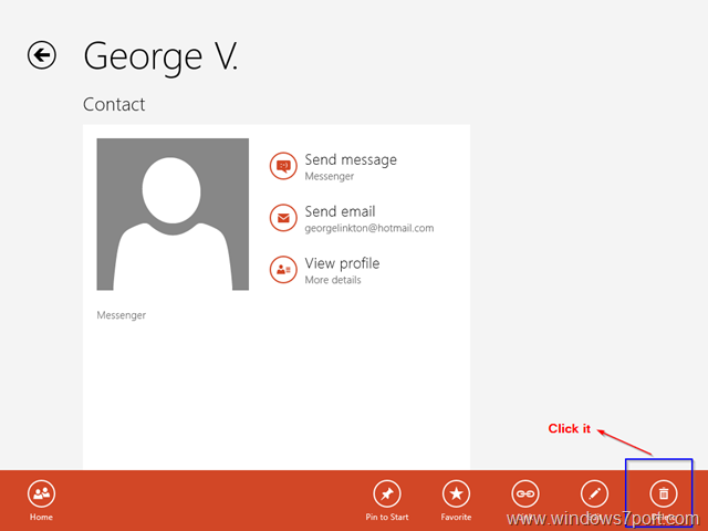 delete_windows_messenger_contact_windows_8