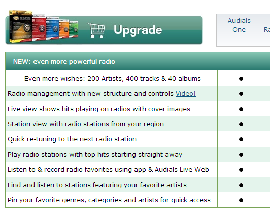 Audials One 10 New Features