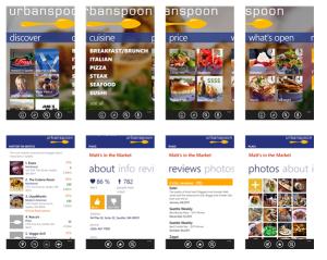 Windows Phone 8 App - Urbanspoon
