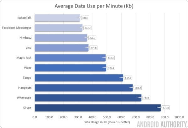 internet usage by skype for voice over calls