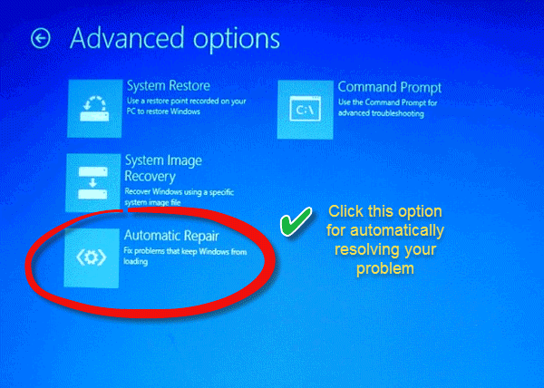 how to repair windows 8.1 through command prompt