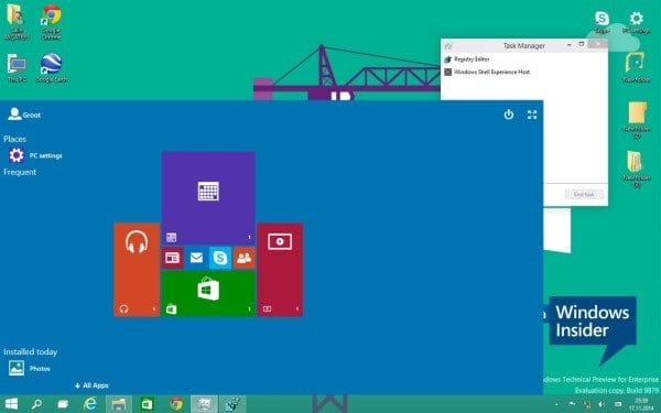 The new Continuum mode for Windows 10