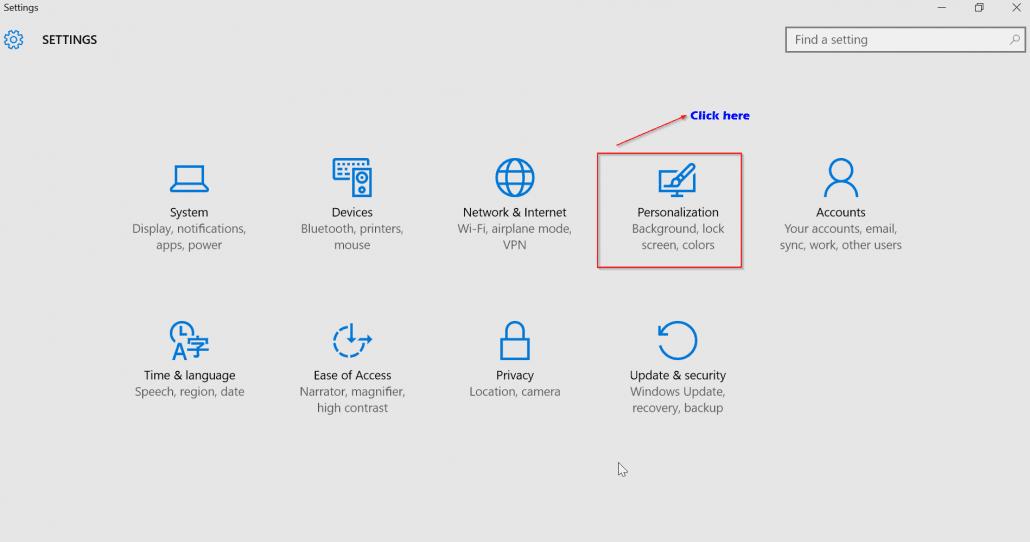 settings to block windows 10 ads