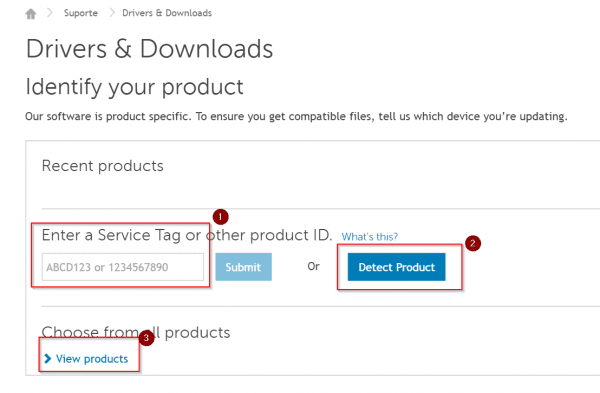 find all drivers for dell devices and windows 10